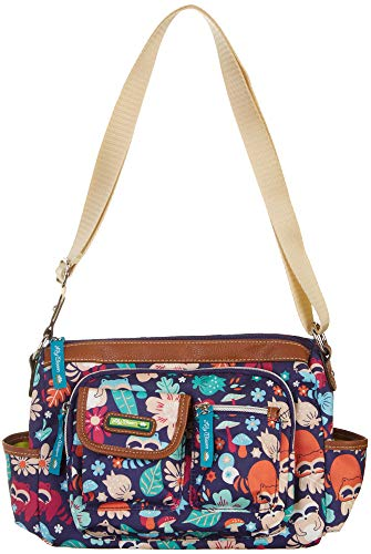 multi Size Raccoon Printed Harvest Handbag Bloom Libby Hobo Lily Blue One 6vqAxpW
