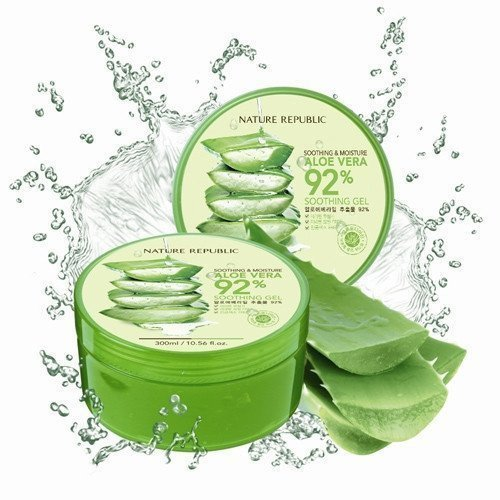 Image result for nature Republic Aloe Vera 92% Soothing Gel