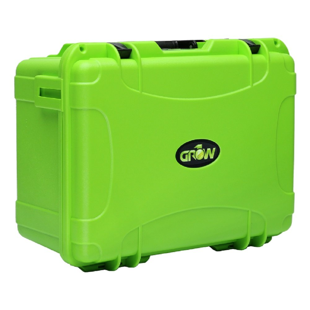 Grow1 Protective Hard Case, Air-Tight with Customizable Foam Insert (14' x 10.75' x 6.5') Air-Tight with Customizable Foam Insert (14 x 10.75 x 6.5)