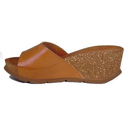 a2dcc7b6f Yokono Women s Thong Sandals Brown Brown  Amazon.co.uk  Shoes   Bags