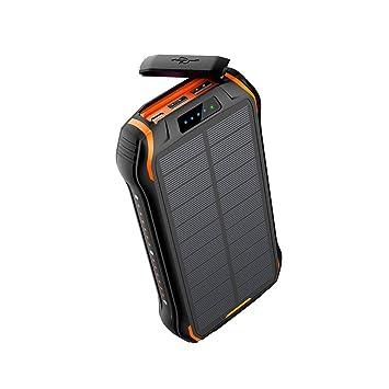 MYYINGELE Qi Cargador Solar Inalámbrico, 26800mAh Solar ...