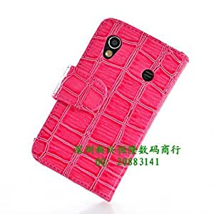 ModernGut High quality flip Crocodile Holster Leather Case For Sumsung s5830 Mobile Phone Case