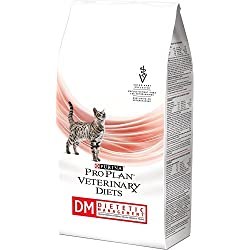 Purina Veterinary Diets DM Dietetic Management Feline Formula Dry Cat Food 6 lb bag