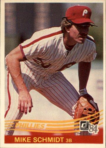 1984 Mike - 1984 Donruss Baseball Card #183 Mike Schmidt