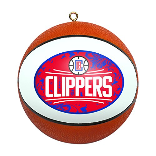 fan products of NBA Los Angeles Clippers Replica Basketball Ornament