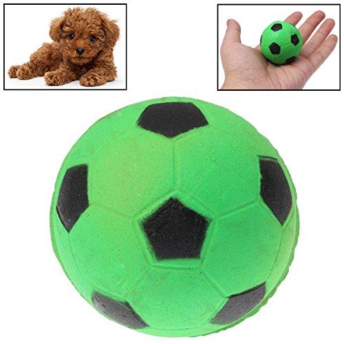 XHD-Prodotti per animali Pattino resistente all'abito e alla resistenza del morso, palla da rimbalzo, giocattolo per animali da compagnia, diametro 4,5 cm Gli animali domestici sono più comodi