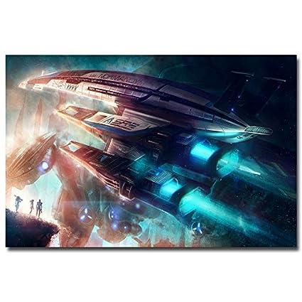 Amazon.com: Lawrence Painting Mass Effect Sr1 2 3 4 Shooting Game ...