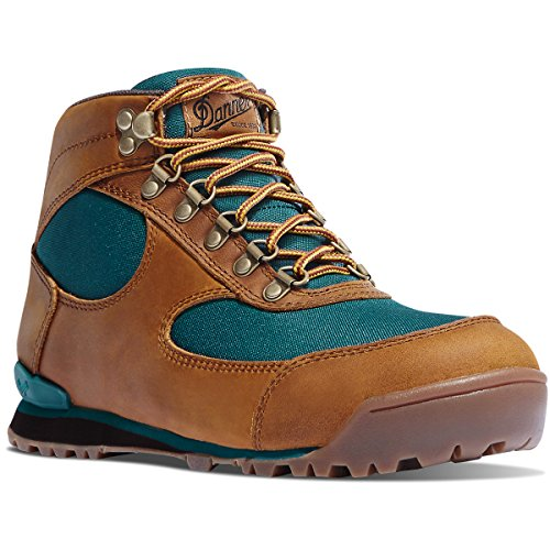 "Danner Women's 37359 Jag 4.5"" Waterproof Lifestyle Boot, Distressed Brown/Deep Teal - 8 M"