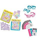 William & Douglas Team Boy & Team Girl Party Bundle | Games & Favors for Boy Gender Reveal Parties | Scratch-Off Game - Boy, Team Boy & Team Girl Pinhole Glasses and Baby Shower Bingo Game