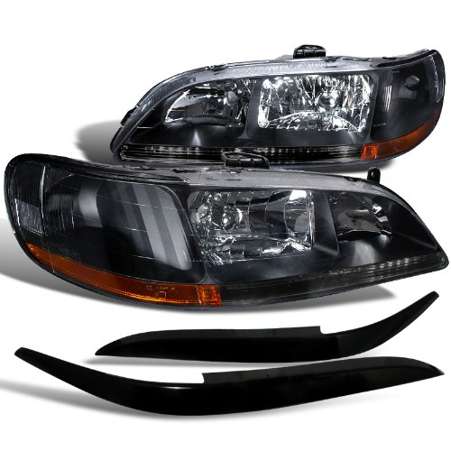 99 accord 4 door headlights - 4