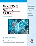 Writing Solid Code (20th Anniversary 2nd Edition)