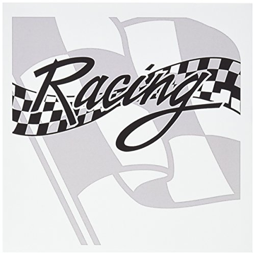3dRose Racing Black and White Checkered Flag - Greeting Cards, 6 x 6 inches, set of 12 (gc_99325_2)