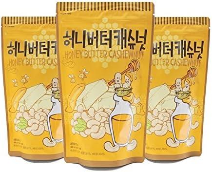 [3個セット]ハニーバターカシューナッツ210gX3袋HoneyButterArmond
