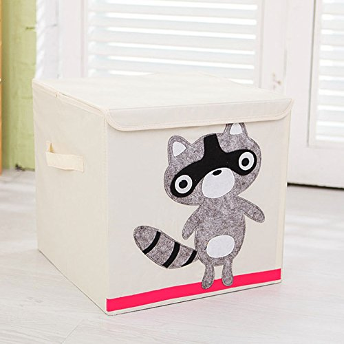 Generic Animal Folding Storage Box Children Clothes Toy Sundries Organizer Box