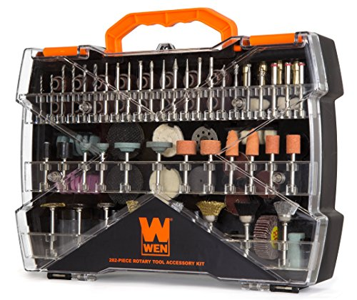 WEN 230282A 282-Piece Rotary Tool Accessory Kit with Carrying Case