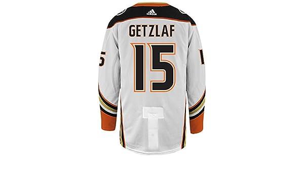 online retailer c9c91 31dd3 Amazon.com : Ryan Getzlaf Anaheim Ducks Adidas Authentic ...