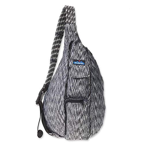 - KAVU Ropercise Rope Sling Bag Gym Crossbody Shoulder Bag for Working Out - Zebra