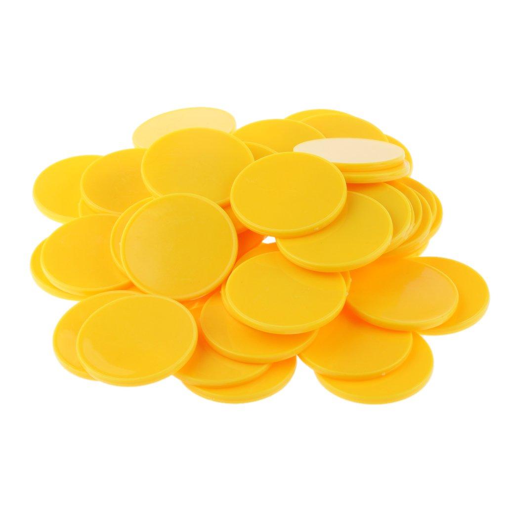 Homyl 150 pcs Ficha Bingo Poker Chip para Juegos Conteo Juguete