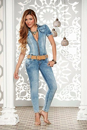 da7d5777bd Amazon.com   ENTERIZO MACONDO JEANS COLOMBIANO - JUMPSUITS Size 10 COL 5 6  USA   Everything Else
