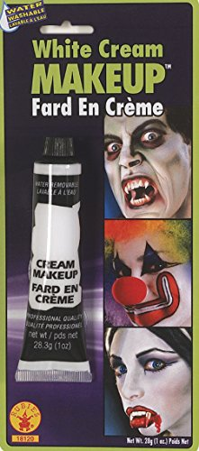 Rubie's Costume Co White Cream Make-Up Costume (Makeup Halloween Costumes)