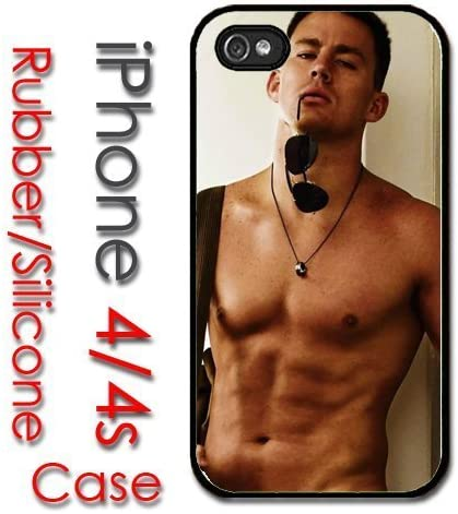 iPhone 4 4S Rubber Silicone Case - Channing Tatum No Shirt ...