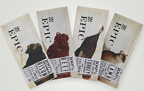 Epic All Natural Meat Bars - Mixed Case of 12 Bars