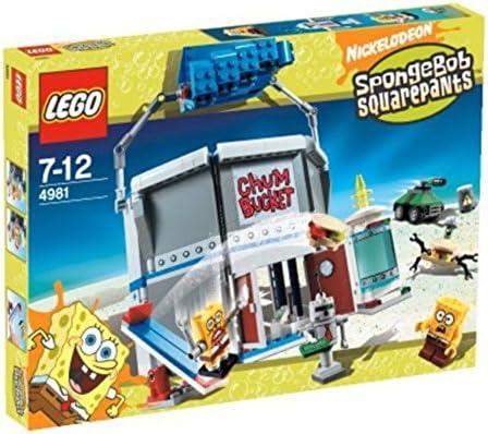 Lego Chum Bucket SpongeBob Squarepants