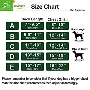 LovinPet Dog Pajamas Pet Clothes Safe Snap Buttons For Small Dog Onesie for chihuahua Pomeranian Maltese Yorkie shih tzu (Please Read Description)