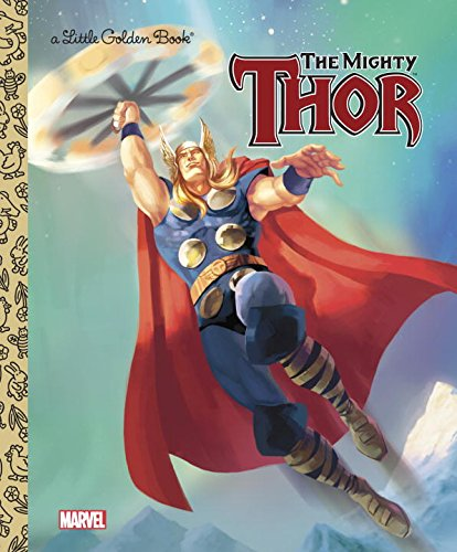 Mighty Thor Marvel Little Golden product image