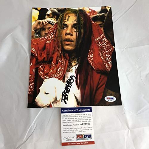 Tekashi 69 6IX9INE signed 8X10 photo PSA/DNA autographed Rapper Day69 Tekashi69
