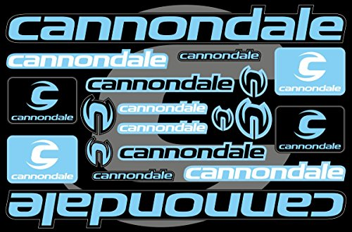 Cannondale Decals Stickers Bicycle Frame Replacement Graphic Set #4 ()