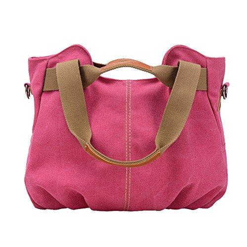 hombro para Bolso Hobo Multicolor UNYU Handbags al mujer Rosa PwAXq