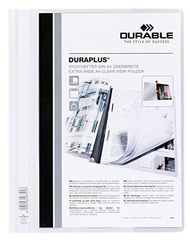 Durable 257902 Folders (White)