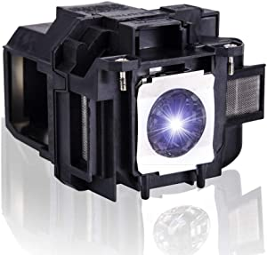 KAIWEIDI V13H010L88 Replacement Projector Lamp Bulb for Epson ELPLP88 PowerlLite 1224 1264 740HD HC1040 HC2040 HC2045 HC640 X27 EX3240 EX7240 EX9200 EX5250 EX5240 VS240 VS345 VS340 Projectors