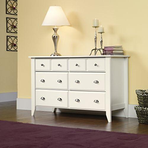 Sauder Shoal Creek Dresser - a good cheap modern nightstand