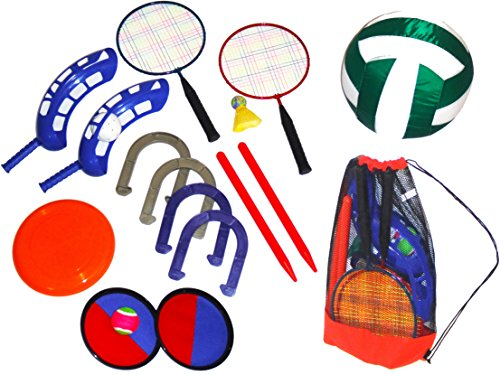 Six Game Outdoor Sports Set