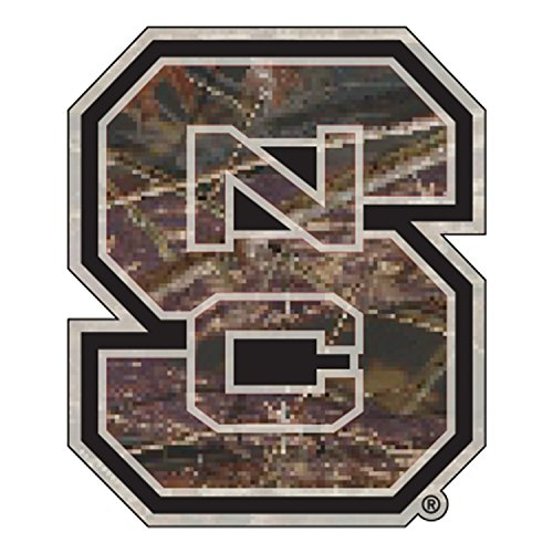 - North Carolina State Decal CAMO S NC DECAL 6