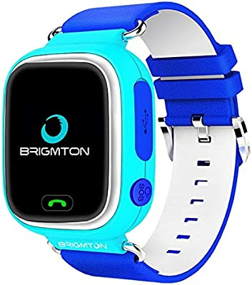 Brigmton BWATCH-Kids SmartWatch GPS, Azul: Amazon.es: Electrónica