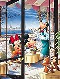 ジグソーパズル プチ2 ディズニー 500スモールピース パリのカフェテラス (16.5cm×21.5cm、対応パネル:プチ2専用)
