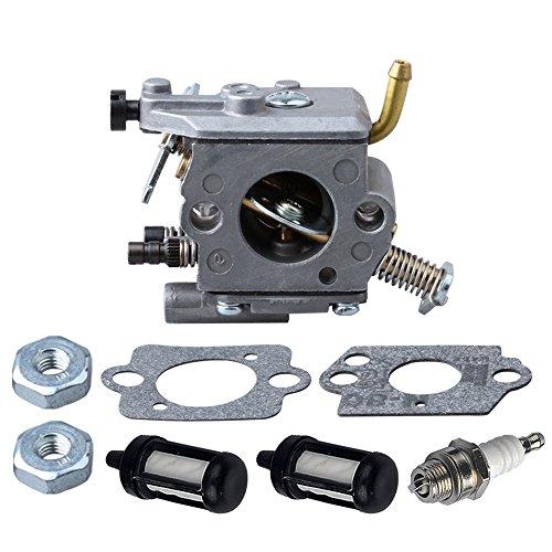 HIPA C1Q-S126B Carburetor with Gasket Fuel Filter Spark Plug Sprocket Cover Nut for STIHL MS200 MS200T 020T Carburetor (Stihl Ms200 Carburetor compare prices)