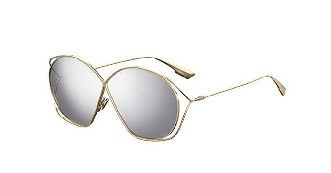 821cf97969 Image Unavailable. Image not available for. Color  New Christian Dior  Stellaire 2 83I 0T Gold Grey Silver Sunglasses