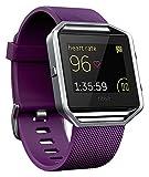 Fitbit Best Deals - Fitbit Blaze, Reloj inteligente y monitor de actividad color morado, grande
