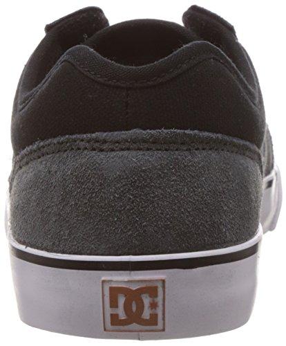 DC Shoes TONIK SHOE D0302905 - Zapatillas de ante para hombre Negro, gris, negro