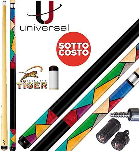 Taco billar carambola universal Picasso 115 – 3. Fútbol y punta ...