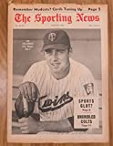 img - for Sporting News August 31, 1968 Ted Uhlaender Cover book / textbook / text book