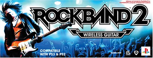 (PS2/PS3 Rock Band 2 Standalone Guitar)