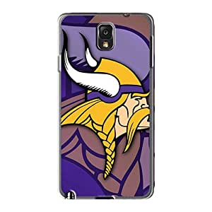 Samsung Galaxy Note 3 FiW344HxnP Provide Private Custom High-definition Minnesota Vikings Image Best Hard Cell-phone Case -DeanHubley