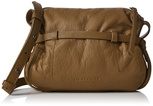 Liebeskind Berlin Women's Fremont Vintage Leather Crossbody, Sioux Beige by Liebeskind Berlin