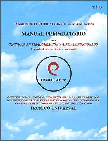 Examen De Certification De LA Agencia Epa Manual Preparatorio Para ...