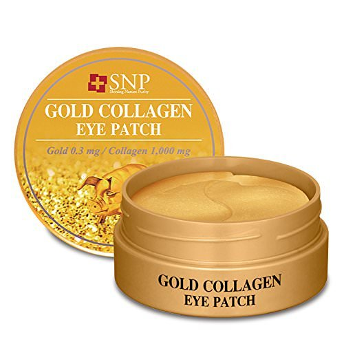 SNP | Gold Collagen Eye Patch | Tightening & Firming | Real 24K Gold | 60 Patches